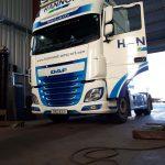 HANNON Transport DAF Tractor Unit in GArage