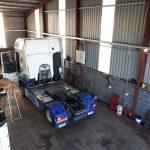 DAF X106 Truck in Workshop