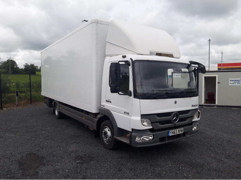 Mercedes Atego 7.5 tonne Rigid Box Body Main View