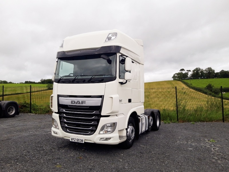 2015 DAF XF460 Tractor Unit Main View