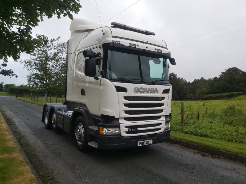 2016 Scania R450 Tractor Unit Front