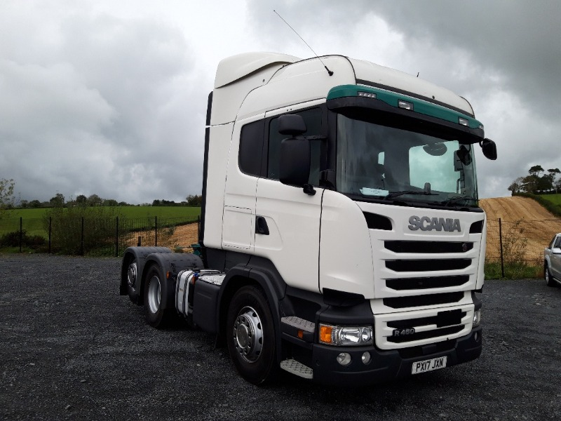2017 Scania R450 Tractor Unit Main View
