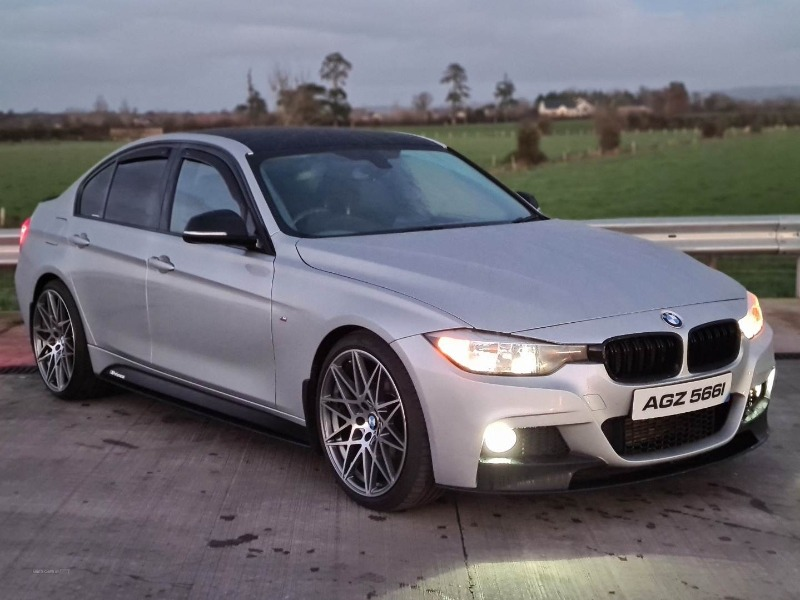 DEC 2015 BMW 320d M SPORT AUTO FULL MOTORSPORT KIT Front view
