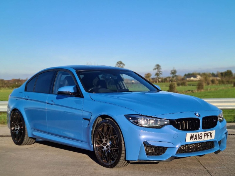 MAY 2018 BMW M3 COMPETITION PACK Main view