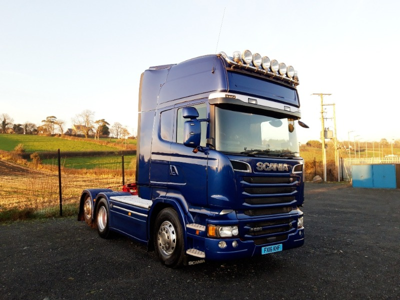 2016 Scania R520 Main view