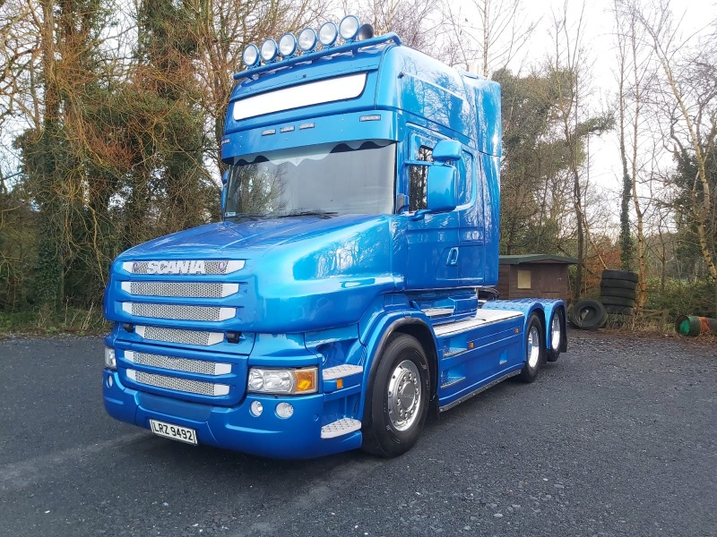 2008 Scania T500 Front